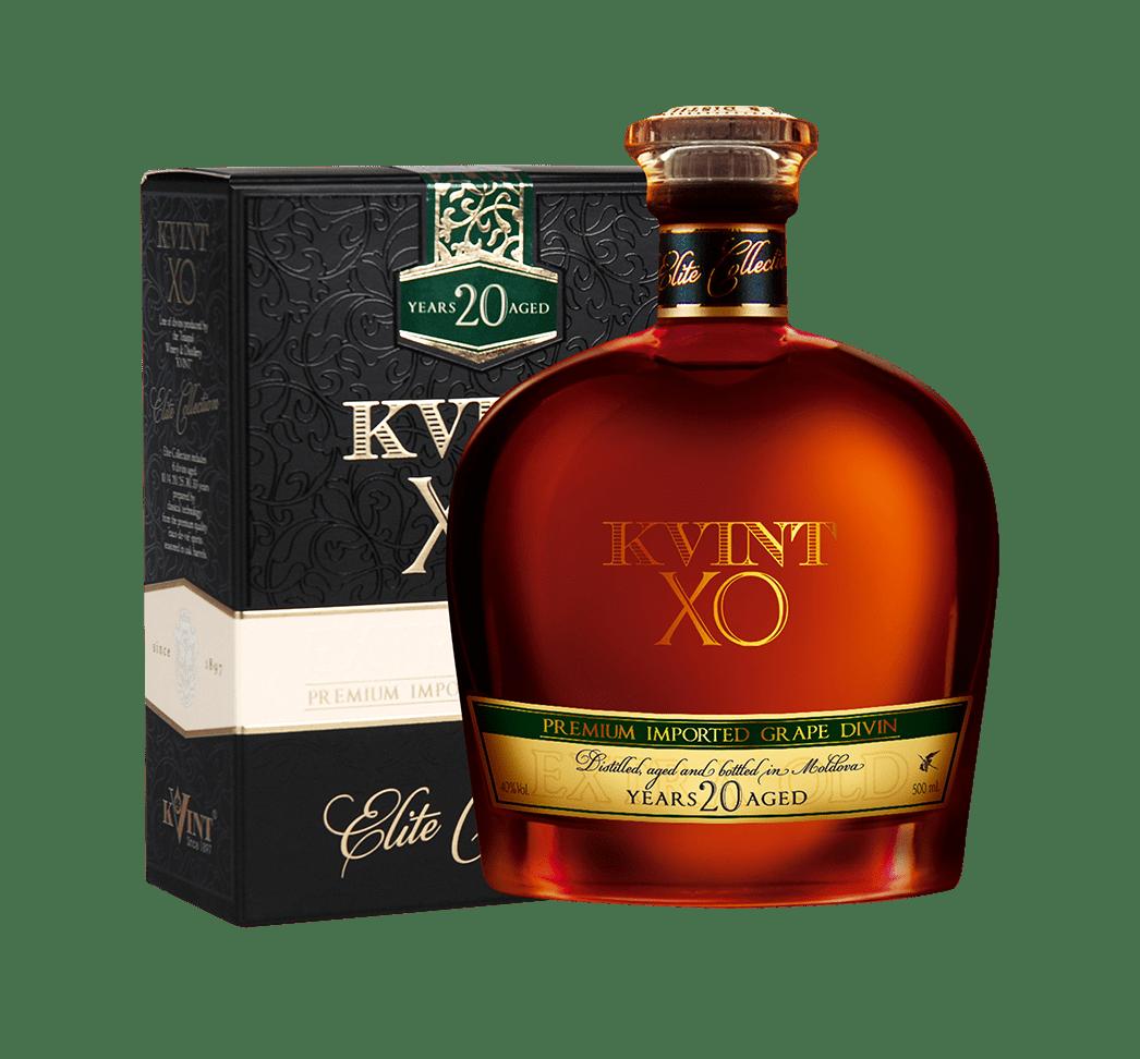 brandy Kvint, čas zrenia 20 rokov, XO